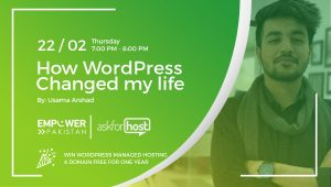 Recording; How WordPress changed my life