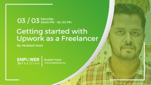 Recording; Getting started with Upwork as a Freelancer