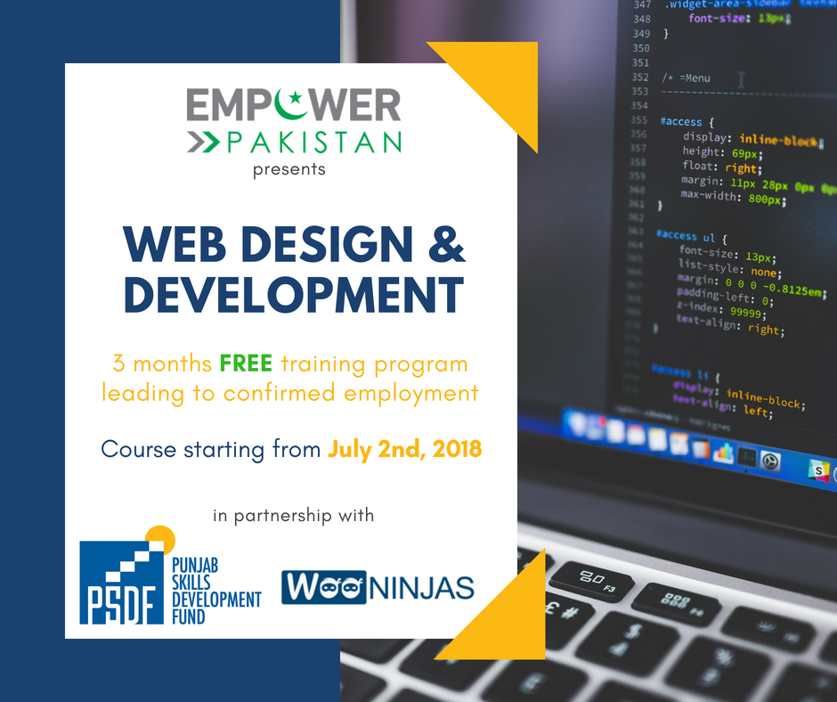 Web Design Development Free Training Course
